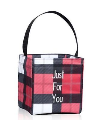 Check Small Tote - Little carry-all Caddy thirty one small utility tote bag 31 gift check mate a