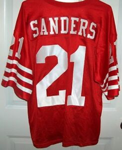 Number 21 Dion Sanders San Francisco 49rs Home Jersey London Ontario image 2