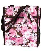 Pink and Brown Diaper Bag
