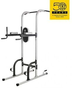 Golds Gym XR10.9 Power Tower Pull Up Station Lift Body Home Gym Workout Exercise