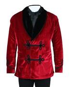 Red Smoking Jacket