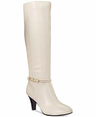 Karen Scott Hollee Wide Calf Dress Tall Boots Size 6 WC White, MSRP $80](White Boots Wide Calf)