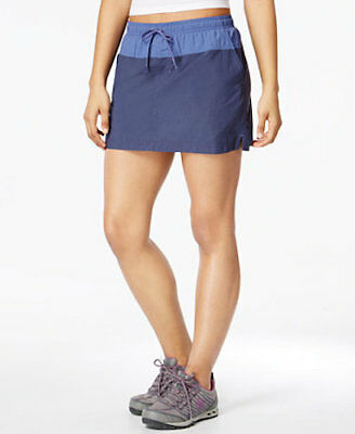 U1 Columbia Womens Sandy River Skort small New Active Hiking Water Skirt blue