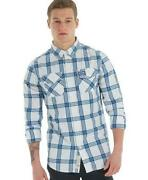 New Mens SUPERDRY Shirt