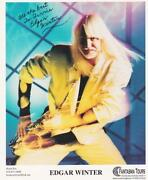 Edgar Winter Signed