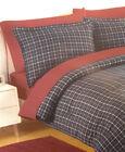 King Plaid Comforters Sets