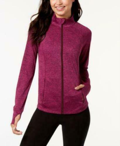 Ideology Long Sleeve Performance Full Zip Athletic Jacket, Various Color & Sizes