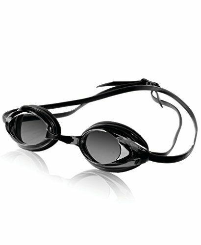 Speedo Vanquisher Optical Goggle,Black/Smoke (030),-6.0