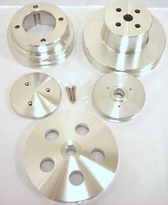 Oldsmobile 4 Pulleys & Nose Cover Double 2 1 Groov