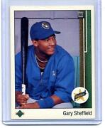 1989 Upper Deck Gary Sheffield