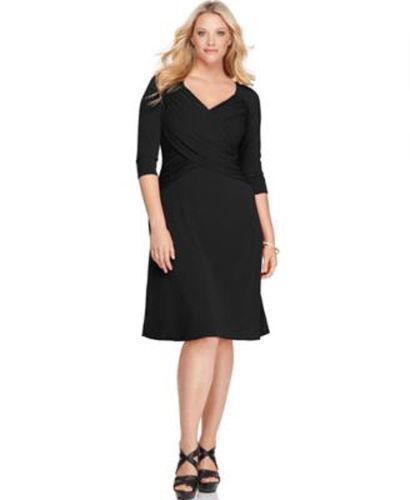 Plus Size Slimming Dress | eBay