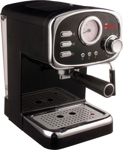 Macchina per caffè espresso e Cappuccino Retrò con 3 FILTRI polvere e cialda ESE