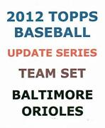 2012 Baltimore Orioles Team Set