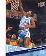 2010 Upper Deck North Carolina Basketball