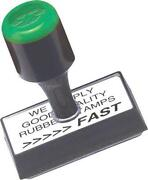 Rubber Service Stamp