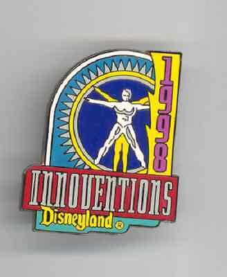 Disney 1998 Disneyland Attraction Series Innoventions Tomorrowland Pin