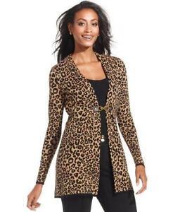 Leopard Cardigan: Women's Clothing | eBay