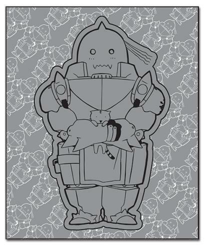 FullMetal Alchemist - Chibi Alphonse Plush Throw Blanket