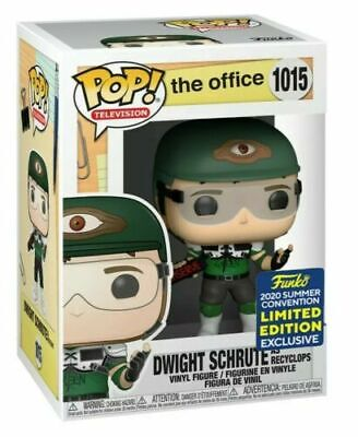 FUNKO POP Dwight Schrute as Recyclops Vol 2 The Office SDCC 20 Shared PREORDER