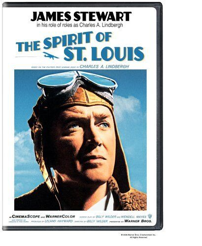 THE SPIRIT OF ST LOUIS (1957 James Stewart) english cover -DVD - UK Compatible