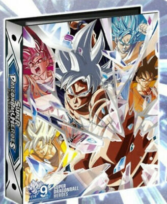 BANDAI Super Dragon Ball Heroes 9 Pocket Binder 9th anniversary JAPAN OFFICIAL Bandai 9 Pocket