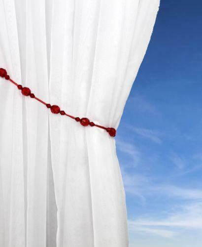 Red Tie Backs Curtain Amp Blind Accessories Ebay