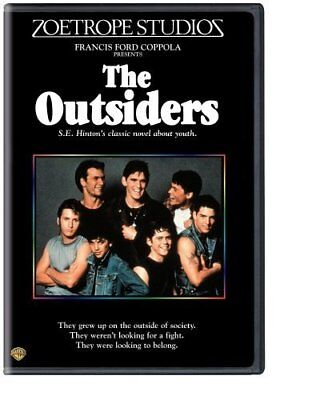 The Outsiders   Patrick Swayze  Tom Cruise  Rob Lowe   New Sealed Dvd