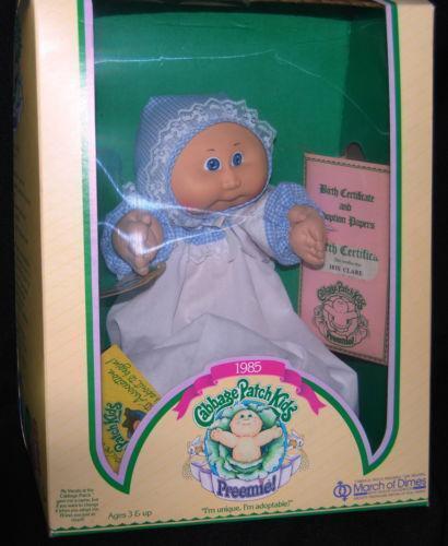 1985 Cabbage Patch Kids Preemie Ebay