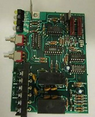 Siemens Faraday Fire Alarm Part Ar-3401318 Y Dual Aux. Relay Driver Module