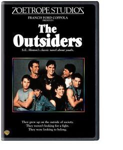 THE OUTSIDERS (1983) DVD R1 Australia READ ITEM DESCRIPTION