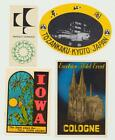 Luggage Label Lot