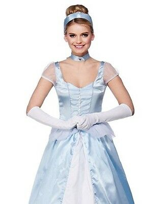 Sweet Cinders Cinderalla Fairytale Book Week Ladies Fancy Dress Costume XS to XL