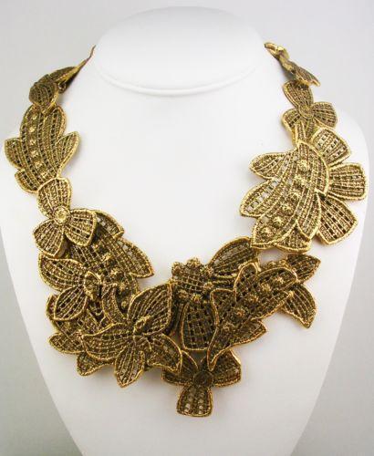 oscar de la renta necklace ebay