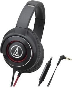 Audio Technica ATH-WS770ISBRD Solid Bass Over-Ear Headphones