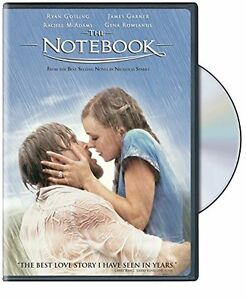 The Notebook dvd-new and sealed + bonus book-$5 for the lot