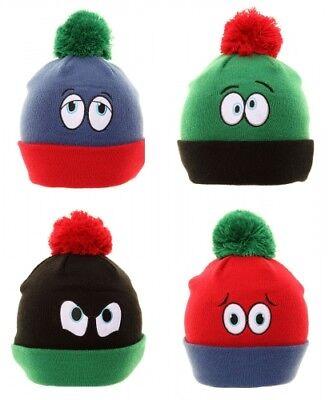 Kinder Unisex Neuheit Lustige Augen Ski-Beanie Winter Warm Bequem Hüte von Jiglz