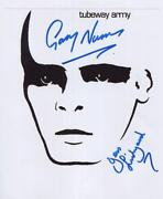 Gary Numan Signed