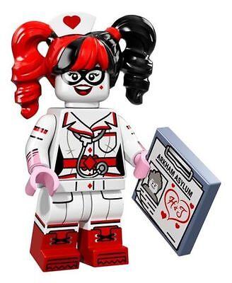 Lego Batman Movie Series Nurse Harley Quinn MINIFIGURES 71017 FACTORY SEALED