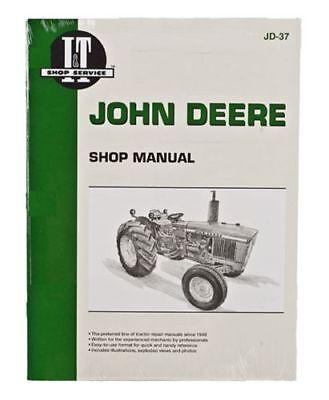 Shop Manual Fits John Deere 1020 1520 1530 2020 2030 Tractor