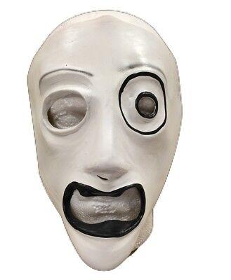 Latex Masken Uk (Corey Latex UK Slipknot Ahig Album Maske Kostüm geschnürt Halloween Cosplay)