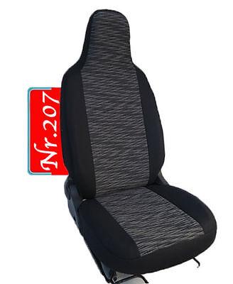 Grau Komplettset Schonbezüge Sitzbezüge Autositzbezüge für Toyota Aygo II 14