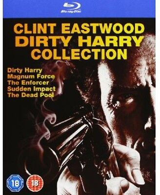 Clint Eastwood Dirty Harry Collection  5 Discs Blu Ray Region All