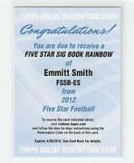 Emmitt Smith Auto