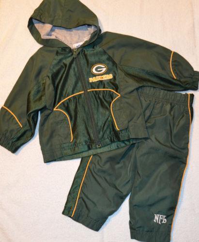 Green Bay Packers Green Babywear