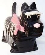 Scottie Cookie Jar