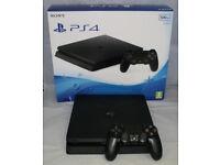 Playstation 4 slim 500gb boxed