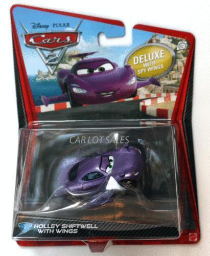 Finn Mcmissile Giocattolo Mattel Disney 1 55 Cars Auto: Holley Shiftwell: Cars