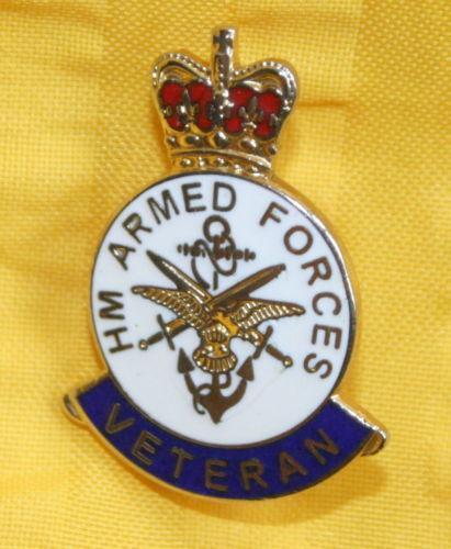 Military Veteran Badge Ebay