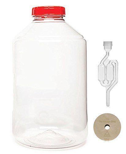 Fermonster Xl Plastic 7 Gallon Spigot Pet Wide Mouth Carb...