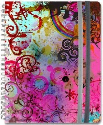 Wire-O Journal Vivid Frost Medium Lined both Sides 200 Spiral Journal 8.25x5.75 (Spiral Journal)